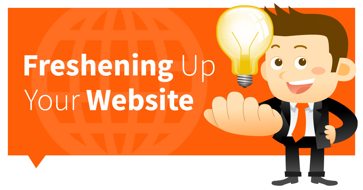 Freshening up your Website