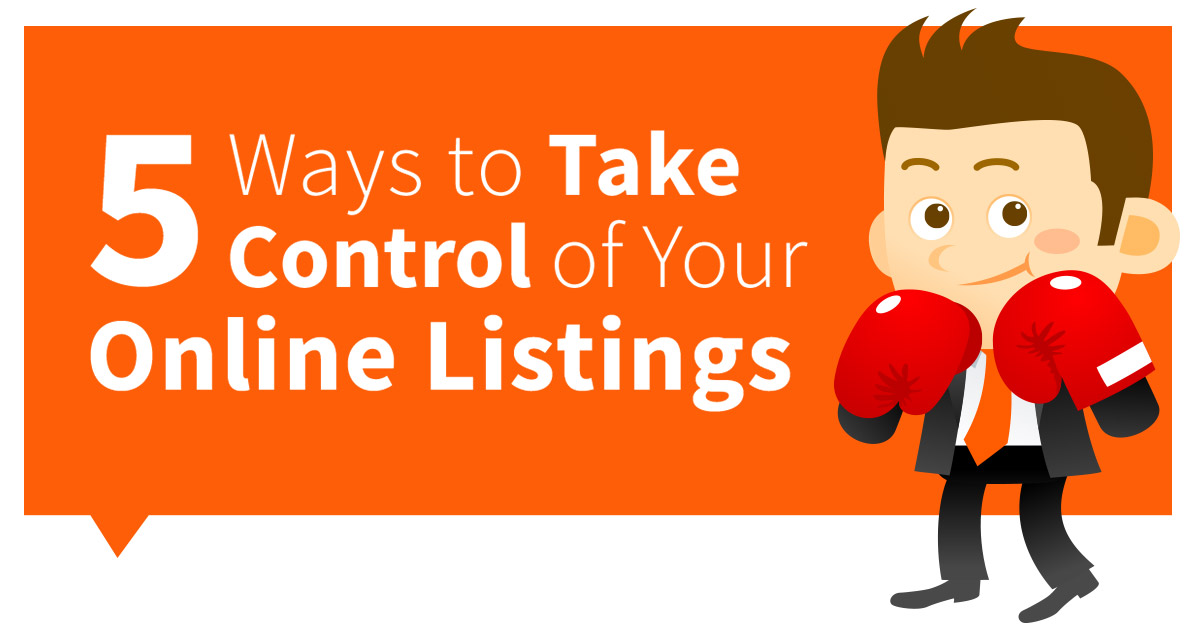 Take Control of Your Online Listings